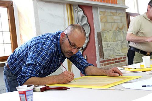 Bild aus einem Malerhandwerk-Seminar