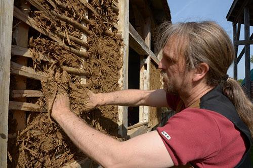 Bild aus einem Maurerhandwerk-Seminar